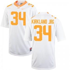 Darrin Kirkland Jr. Men Jersey Men Medium White Tennessee Limited