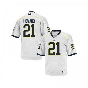 Desmond Howard Limited Jersey For Kids Stitched Michigan Wolverines White Jersey