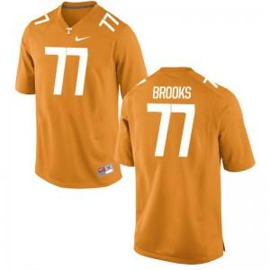 Devante Brooks Jerseys Mens XXL UT Limited For Men - Orange