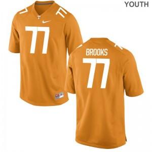 Devante Brooks Limited Jersey Youth(Kids) Player Tennessee Volunteers Orange Jersey