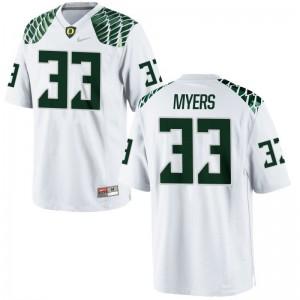 Ducks Dexter Myers Jerseys Mens XL Men Limited White