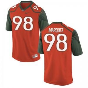 Mens Limited Hurricanes Jerseys Diego Marquez Orange Jerseys
