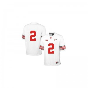 White Diamond Quest Patch Dontre Wilson Jerseys Mens Medium Ohio State Buckeyes Limited Men