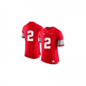 Dontre Wilson Jersey Large OSU Limited Youth - Red Diamond Quest Patch