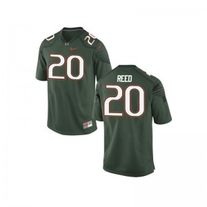 Ed Reed Youth(Kids) Jerseys Medium Miami Limited Green