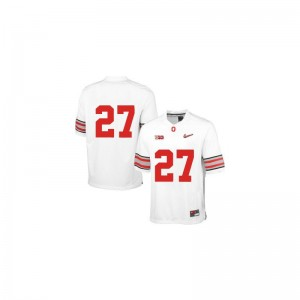 Eddie George Ohio State Buckeyes Jerseys Mens XXL Mens Limited - White Diamond Quest Patch