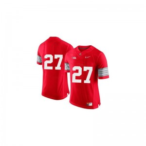 Ohio State Buckeyes Eddie George Kids Limited Red Diamond Quest Patch Stitched Jersey