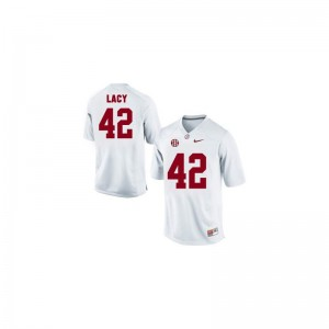 Eddie Lacy Youth Jersey Small White Alabama Limited