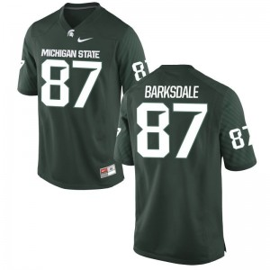 Edward Barksdale Youth Jersey Medium Michigan State Spartans Limited Green
