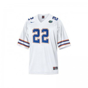 White Emmitt Smith Jersey Large UF Limited Kids