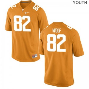 Kids Ethan Wolf Jersey Alumni Orange Limited Vols Jersey