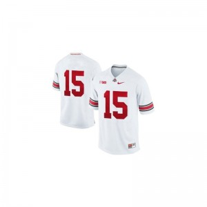 Ezekiel Elliott Youth(Kids) Jerseys S-XL White Ohio State Limited
