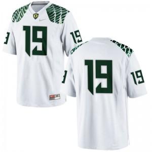 Mens Fotu T. Leiato II Jerseys 3XL Ducks Limited White