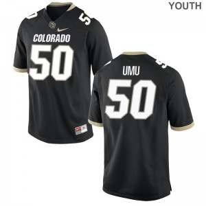 UC Colorado Frank Umu Youth Limited High School Jersey Black