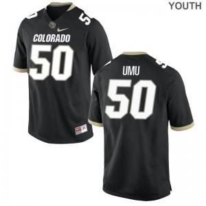 UC Colorado Frank Umu Youth Limited High School Jersey Black