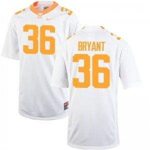 Tennessee Volunteers White Youth Limited Gavin Bryant Jerseys Youth Large