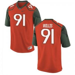 Gerald Willis Miami Mens Limited Jersey Mens Medium - Orange