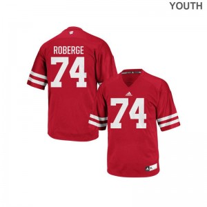 Gunnar Roberge Youth Jerseys Youth X Large Wisconsin Replica Red