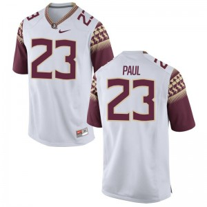 Herbans Paul Mens Jersey Mens XXL Seminoles White Limited