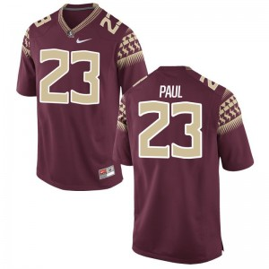 Herbans Paul Florida State Seminoles Jersey Youth Medium Garnet Limited For Kids