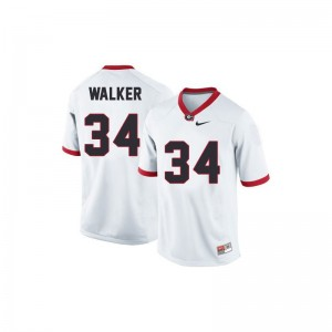 UGA Bulldogs White Kids Limited Herschel Walker Jersey Youth Large