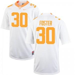 UT Holden Foster Jerseys Medium Men White Limited