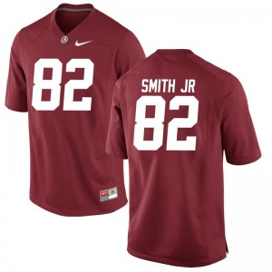 Bama Mens Red Limited Irv Smith Jr. Jersey X Large