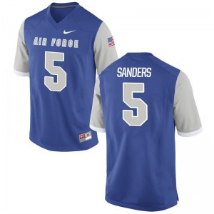 Isaiah Sanders USAFA Jersey Mens XL For Men Limited - Royal