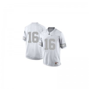 Mens Large Ohio State Buckeyes J.T. Barrett Jerseys Embroidery For Men Limited Platinum Jerseys