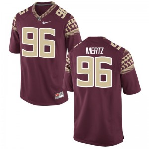 Mens JT Mertz Jerseys Garnet Limited Seminoles Jerseys