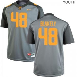 Limited Ja'Quain Blakely Jerseys X Large Youth(Kids) Vols - Gray