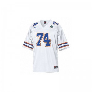 University of Florida Limited Mens White Jack Youngblood Jerseys Mens Medium