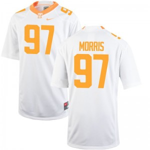 Youth(Kids) Limited Tennessee Volunteers Jerseys Youth Medium Jackson Morris - White