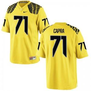Ducks Jacob Capra Jerseys S-3XL Mens Limited Gold