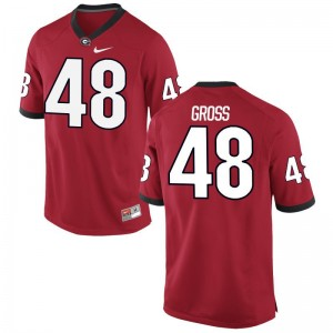 Limited Jacob Gross Jersey Medium University of Georgia Mens - Red