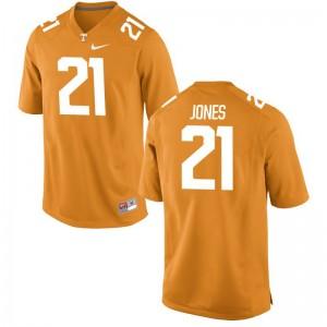 Limited Jacquez Jones Jersey Men XXL UT For Men - Orange