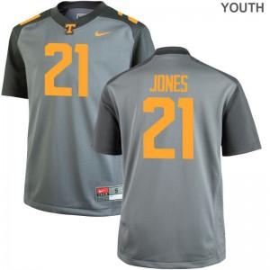 Kids Limited Tennessee Volunteers Jersey Jacquez Jones Gray Jersey
