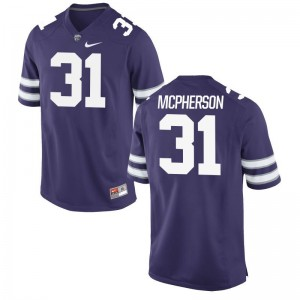 Jahron McPherson K-State Jersey Mens Large Mens Limited - Purple