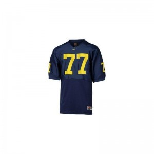 University of Michigan Jake Long Jersey Mens Medium Limited Men Blue