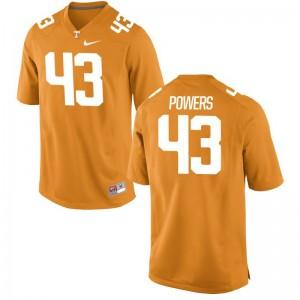 Limited Jake Powers Jerseys Mens XXXL UT For Men - Orange