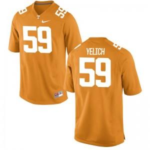 Mens Limited Tennessee Volunteers Jersey Jake Yelich Orange Jersey