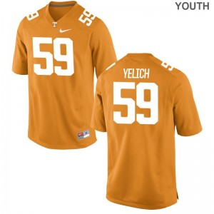Vols Jake Yelich Jerseys Small Orange Limited Youth