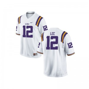 Louisiana State Tigers Jarrett Lee Limited Youth(Kids) Player Jerseys - White
