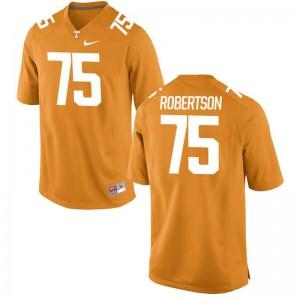 Vols University Jashon Robertson Limited Jersey Orange For Men