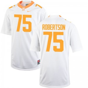 Jashon Robertson Tennessee Jersey XL For Men Limited - White