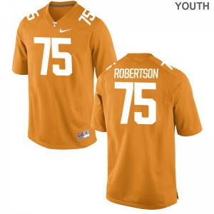 Jashon Robertson Youth Orange Jerseys S-XL Tennessee Volunteers Limited