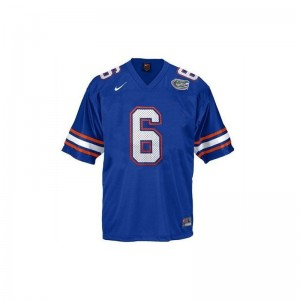 Large UF Jeff Driskel Jersey Men Limited Blue Jersey