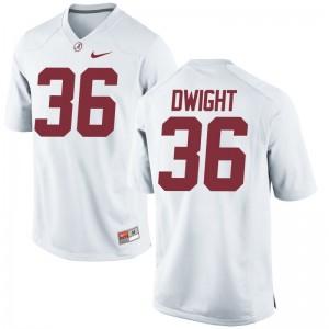 Johnny Dwight Kids Jerseys Medium Bama White Limited