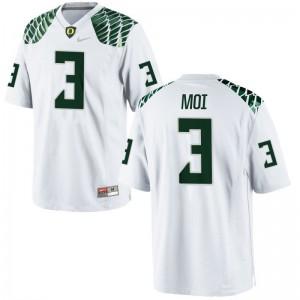 Jonah Moi Oregon Jersey For Men Limited White Alumni