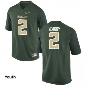 University of Miami Limited Youth(Kids) Green Joseph Yearby Jerseys XL